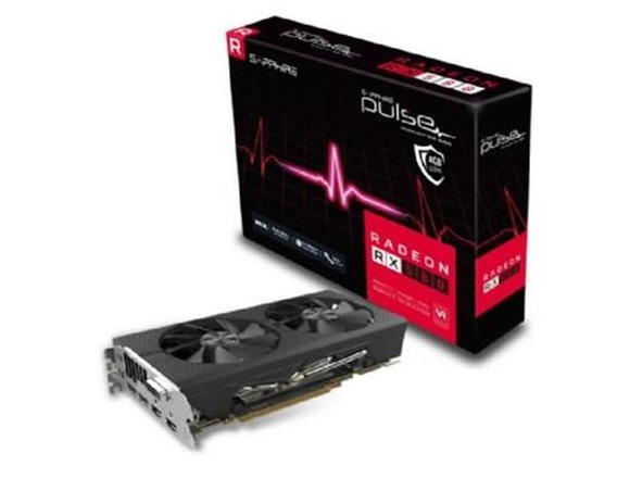 Placa De Video Sapphire Radeon Rx 580 4gb Pulse Ddr5 256bit