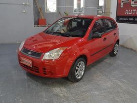 Ford Fiesta Ambiente 1.6l Nafta 2010 5 Puertas Color Rojo