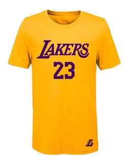 Remera Basket Nba Los Angeles Lakers (002) #23 Lebron James