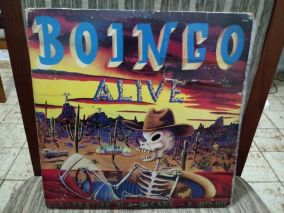 Lp/vinil- Boingo -alive - Capa Dupla - Disco Duplo
