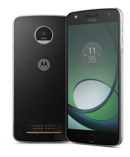 Moto Z Play 32gb Xt1635 Novo + Nf + Capa+pelicula+ Gar 1 Ano