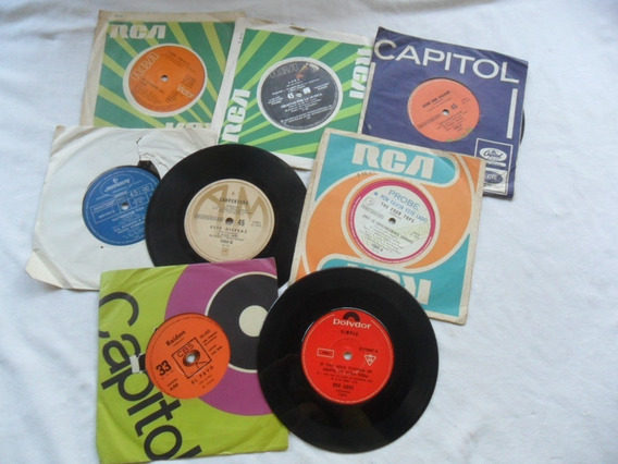 Vinilo Carpenters Bee Gees Douglas Abba Raiders Single Disco