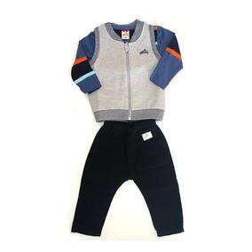 Conjunto Masculino Infantil Para Bebe Menino-013461