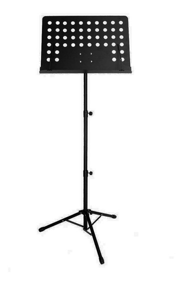 Estante De Partitura Smart Orquestral Sm009 Preta - Ac1753