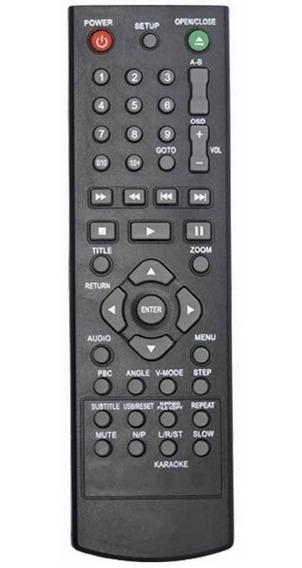 Controle Remoto Para Dvd Philco Ph154 Ph156 Ph192 Ph150 Ph13