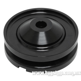 Polea De Alternador / Generador De Aluminio Anodizado Negra