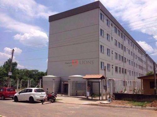 Apartamento Com 2 Dormitórios À Venda, 57 M² - Santa Fé - Gravataí/rs - Ap0190