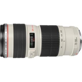 Lente Canon Ef 70-200mm F/4l Usm Zoom Garantia Brasil