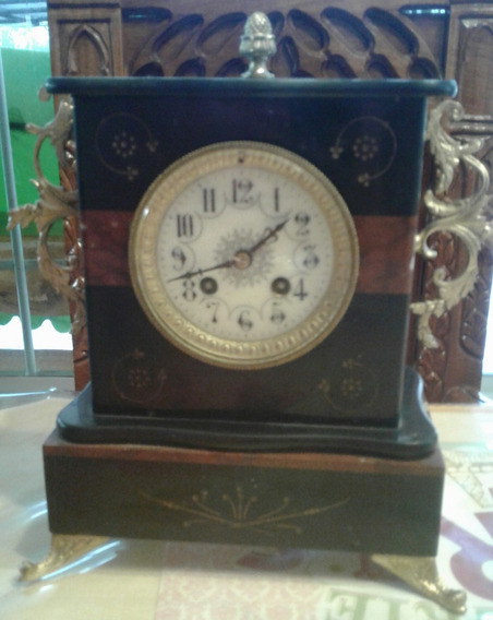 Vendo Antiguo Reloj De Mesa Francés Siglo Xix