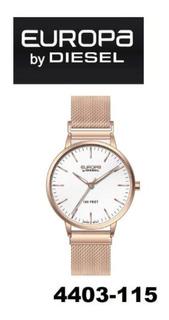 Reloj Europa By Diesel Dama 4403 115 Cierre Imantado