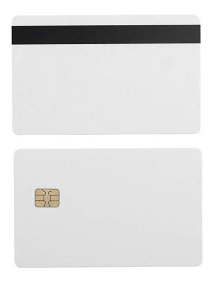 Cartão Sle 4442 Com Chip E Tarja Magnética - Envio Imediato