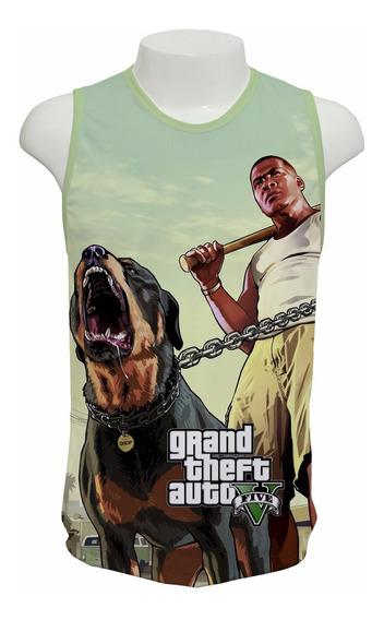 Camiseta Game Gta 5 V Mod 02 - Regata