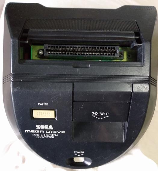 Adaptador De Cartucho Master System Pra Mega Drive - Tec Toy