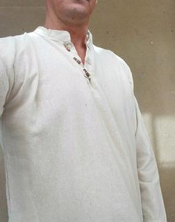 Camisas Algodón Crudo De Hombre