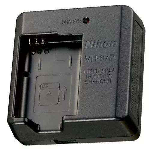 Carregador Nikon Mh-67p Para Bateria En-el23 Original 100%