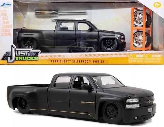 Pick-up Chevy Silverado Dooley + Roda Extra 1:24 Jada Truck