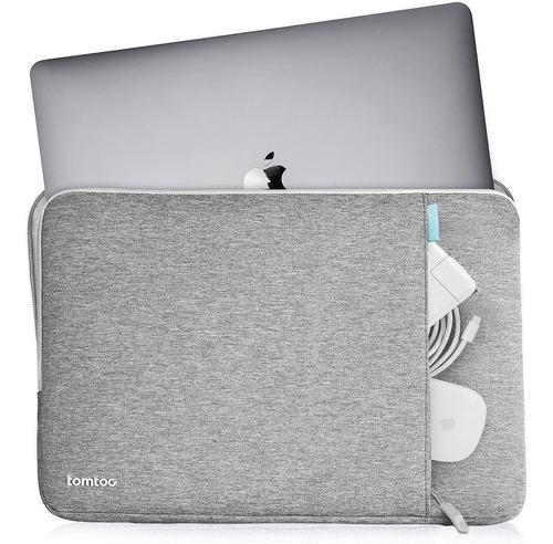 Imagen 1 de 7 de Funda Bolso Apple Macbook Air 13 13.3 Pro 2018 2019 Proteccion En Esquinas Tomtoc Premiun Acolchonada
