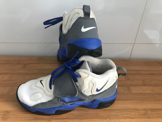 Tênis Nike Infantil Velcro Tam 31 Couro Masculino