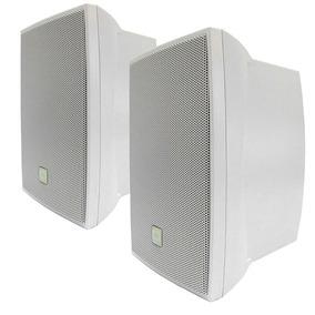 Caixa De Som Acústica Jbl 50w Rms C621b Branco (par)