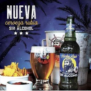 Cerveza Rubia Artesanal Sin Alcohol Barba Roja 330ml Urquiza