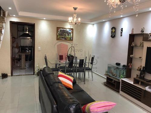 Imagem 1 de 15 de Casa Em Condominio - Mooca - Ref: 8233 - V-8233