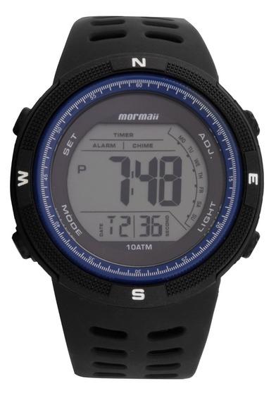 Relogio Mormaii Mo3590aa/8a Crono Alarm Timer 2time Data Luz