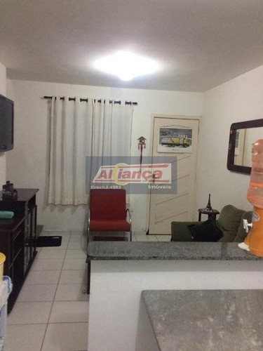 Sobrado Com 2 Dormitórios À Venda, 55 M²- Vila São João Batista - Guarulhos/sp - Ai16059