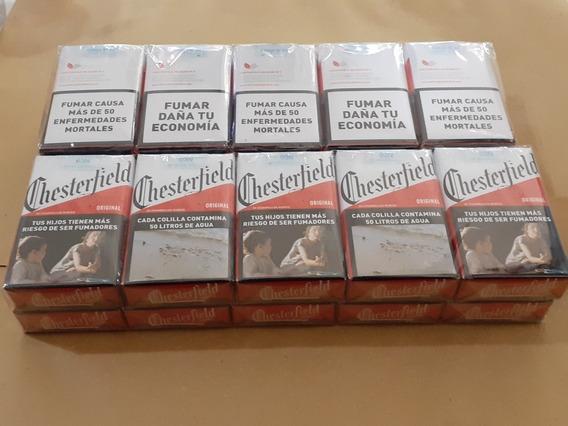 Cigarrillos Chesterfield Comun De 20 Origin.local Zona Once