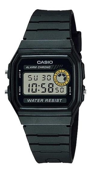 Relógio Casio Masculino Vintage F-94wa-8dg-sc Preto Digital
