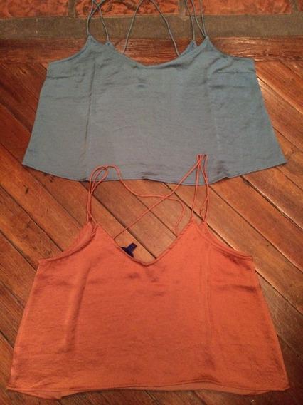 Remera Blusa Aeropostale Mujer Bretel - Original Usa