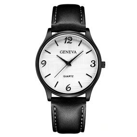 Relógio Masculino Original Geneva Quartz Promoção Barato