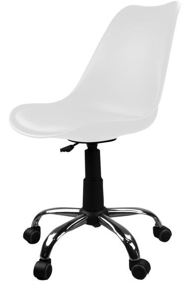 Cadeira Giratória Eames Dkr Office - Branca - Tander