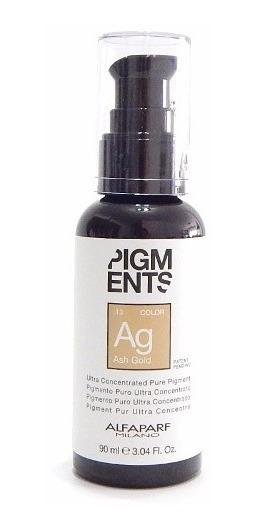 Alfaparf Pigments Pigmento Ultra Concentrado Ash Gold 90ml