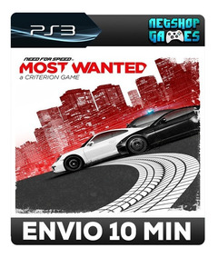 Need For Speed Most Wanted - Psn Ps3 - Pronta Entrega