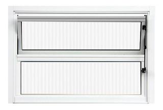 Janela Basculante De Alumínio Branco 0,40 X 0,60