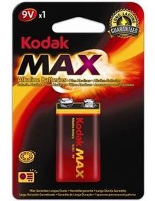 Bateria Alcalina Kodak 9v