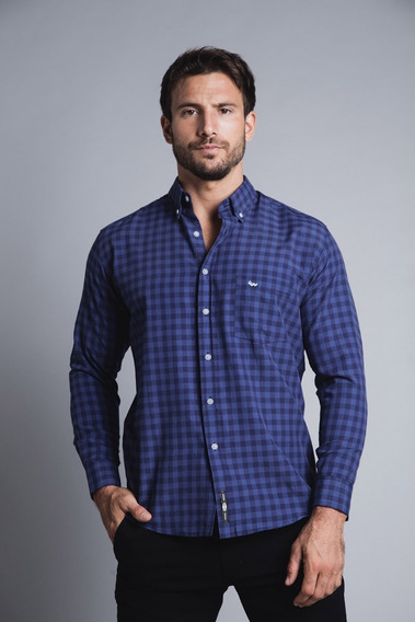 Camisa Hombre Cuadros Waiting