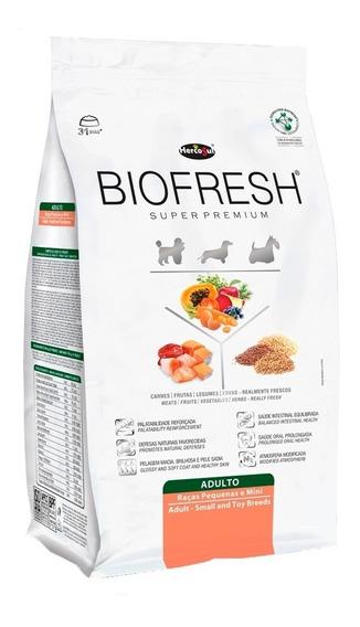 Racao Caes Biofresh Super Premium Adultos Racas Peq 12kg