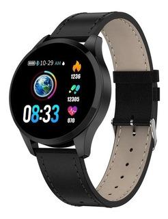 Relógio Q9 Smartwatch Toque De Aço Q9 -ñ É Q8 Diggro Brinde