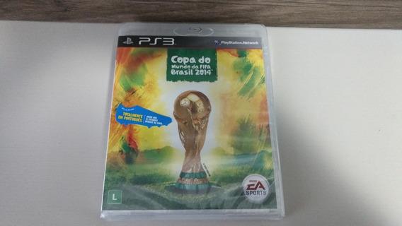 Jogo Ps3 Fifa 14 Copa Do Mundo Brasil - Embalagem Lacrada