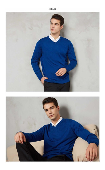 Chompa Suéter Sweater Hombre Algodón