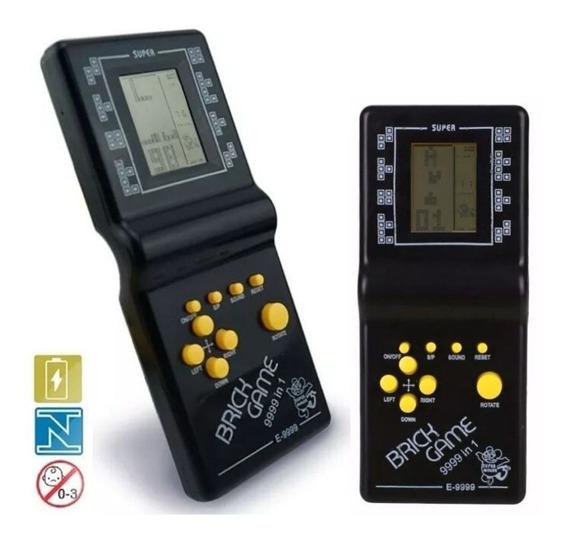 Mini Game Portátil Brick Games Retro 9999 Jogos + 2 Pilhas