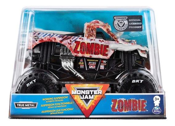Monster Jam Monster Truck Zombie Escala 1/24 True Metal