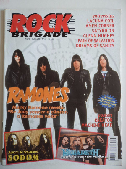 Revista Rock Brigade Ano 18 - N 159