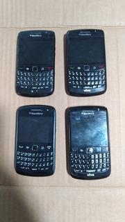 Lote 4 Sucatas Black Berry 9780 E 9360. Para Retirar Pecas.