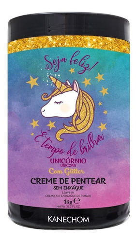 Crema Para Peinar Kanechom Unicornio - g a $35