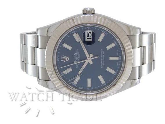 Relógio Rolex Datejust 41mm Aço E Ouro Ref.: 116334