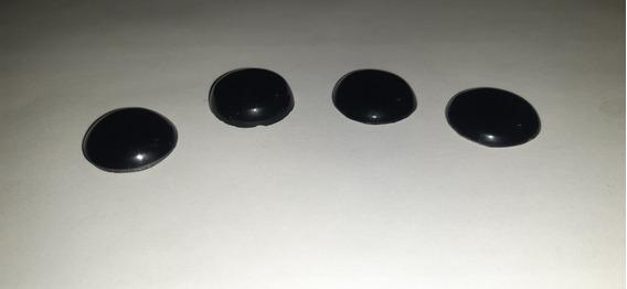 Ombligueras De Obsidiana Negra 100% Natural