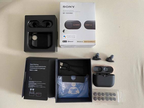 Sony Wf-1000x M3 - Fone Sem Fio Com Noise Reduction