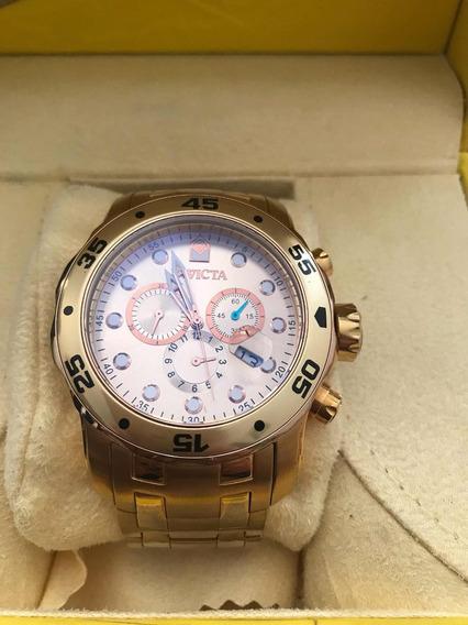 Relógio Invicta Pro Diver - Banhado Ouro 18k